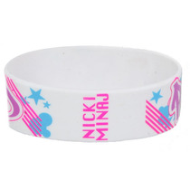 Hot Topic Muñequera Pulsera Nicki Minaj Graffiti Rubber Brac