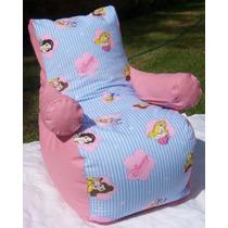 Puff Infantil Sillon Cars Princesas Winnie Poo Kitty