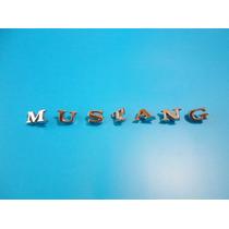 Emblema Ford Mustang Clasico Letras De Laterales Y Cajuela