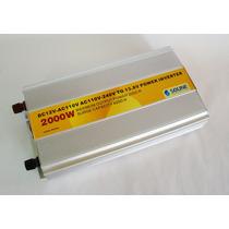 Inversor De Corriente Pwm 2000w Con Cargador De Bateria