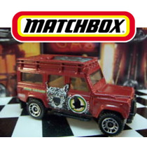 Matchbox Land Rover 110 2011, Camioneta A Escala 1:64