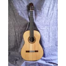 Guitarra De Concierto De Palosanto, Con Abeto Y Ébano Nueva