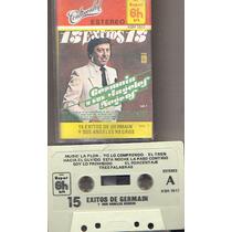 Audio Cassette 15 Exitos De Germain Y Sus Angeles Negros