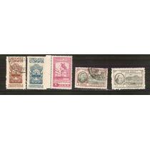 1946 Mèxico Fundaciòn De Zacatecas 5/sellos Nuevos Y Usados
