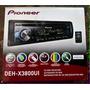 Autoestéreo Pionner Deh-x3800ui Mixtrax Usb Aux Mp3