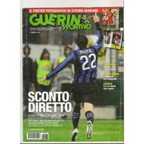 Revista Italiana Guerin Sportivo Diego Milito Inter Milan