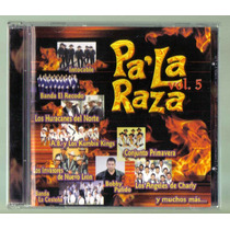 Pa La Raza Vol 5 Cd 1a Ed 2000 Intocable,el Recodo, Sammy