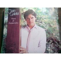 Disco Acetato De Juan Gabriel Cosas De Enamorados