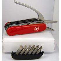 Navaja Suiza Wenger Pocket Grip -nueva-