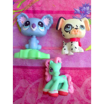 Mi Pequeno Pony Y Little Pet Shop Lote De Figuras