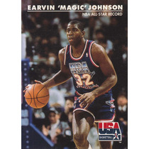 1992 Skybox Usa Earvin Magic Johnson Lakers