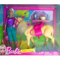Gran Set De Barbie Y Su Caballo Con Accesorios