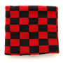 Hot Topic Muñequera Black And Red Checker Wristband Pulsera