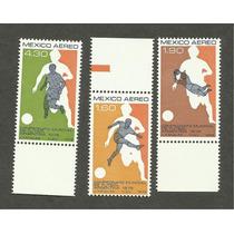 Mexico Estampillas Mundial De Futbol Argentina 1978 Vbf