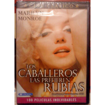 Dvd Los Caballeros Las Prefieren Rubias Marilyn Monroe Ndd