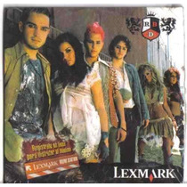Rbd Lexmark .cd Single De Colecc Con Canciones Y Videos Op4