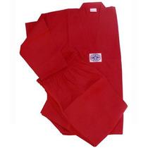 Dobok Rojo Champion - Uniforme Tae Kwon Do - Asiana