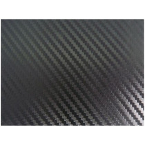 Rollo 30m Vinil Imitacion Fibra De Carbono Negro Con Textura