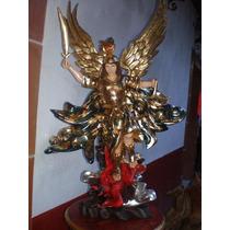 Arcangel Miguel Policromado