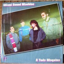 Musica Disco, Miami Sound Machine, A Toda Maquina, Lp 12´css