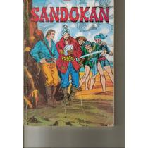 Libro Comic Sandokan (autor;emilio Salgari) Novaro.$200.00