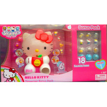 Hello Kitty Dispensador Squinkies Con Serie 1