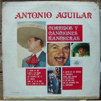 Bolero, Antonio Aguilar, Lp 12´, Hecho En México, Idd.