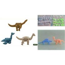Juguete Miniatura Para Maquina Chiclera, Dinosaurio Armable