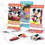 Invitaciones Infantiles Personalizadas Ticketmaster Y Mas.