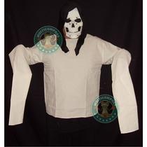 Camisa De Fuerza Hannibal Lecter Amanza Locos Mascara Disfra