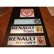 Calcomania Sticker Renault