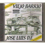 Jose Luis D.f. - Homenaje ( Banda Mexicana ) Cd Rock Urbano