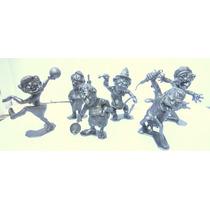 Marx Plastimarx Colección D 6 Figuras Nutty Mads Serie 3 Vbf