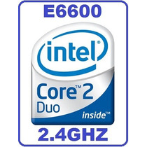 Core2duo E6600 2.4ghz/4m/1066 Doble Nucleo Fisico Poderoso