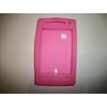 Protector Silicon Case Sony Ericsson Xperia X8 Color Rosa!!!