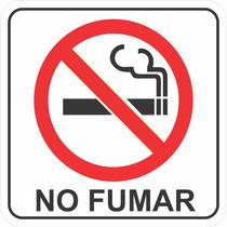 Señalamiento No Fumar 40x40