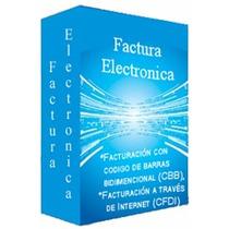 Sistema De Facturacion Electronica Cfdi Y Cbb