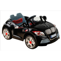Auto Sport Electrico Infantil Negro Mp3-in Control Remot Hwo