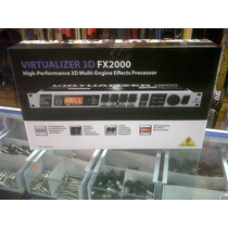 Procesador De Voz Behringer Fex-2000