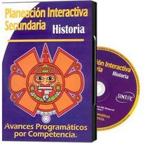 Planeación Interactiva Secundaria Historia 1 Cd Rom