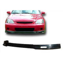Spoiler En Facia Defensa Delantera Honda Civic 1999 - 2000