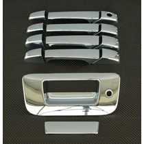 Cubre Manijas Cromadas Chevrolet Silverado 4 Puertas Y Batea