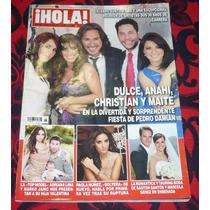 Dulce Anahi Christian Y Maite Revista Hola En La Fiesta De