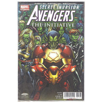 The Avengers The Initiative # 3-secret Invasion-televisa