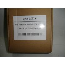 Siemens Simatic Usb-mpi Para Plc S7200, S7300 Y S7400