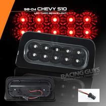 Luz Stop Led Negra Chevrolet S10 95 96 97 98 99 00 01 02 03
