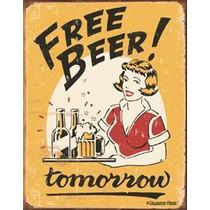Poster Metalico Humor De Bar Anuncio Retro Antiguo Vintage