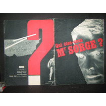 Qui Êtes-vous Mr Sorge? / Soviet Spy, Folleto Publicitario