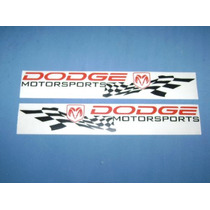 Calcomania Dodge Motor Sport Nueva