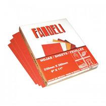 Lija Roja K61 Faandeli Gruesa Caja Con 25 Piezas.